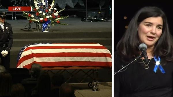 [VIDEO] Wife of Slain Colorado Police Officer: Two Words Some Up All My Husband Had to Say to This World
