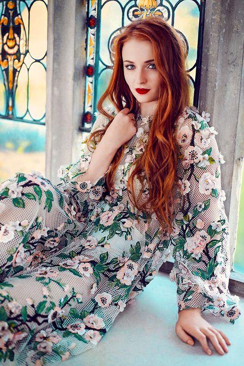 game of thrones princess edit Sophie Turner- Tatler UK