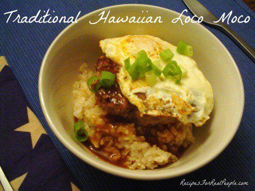 Loco Moco, A Traditional Hawaiian Breakfast Recipe