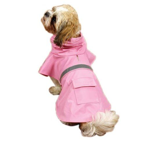 Guardian Gear Brite Rain Jackets for Dogs Large Pink -- Don't get left behind, see this great dog product : Dog coats