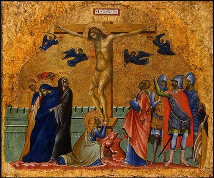 The Crucifixion, 1340 - Paolo Veneziano