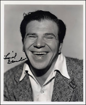 Lionel Stander, Bronx born tough guy character actor of 1930's. Later on TV was Max on Heart to Heart TV show.