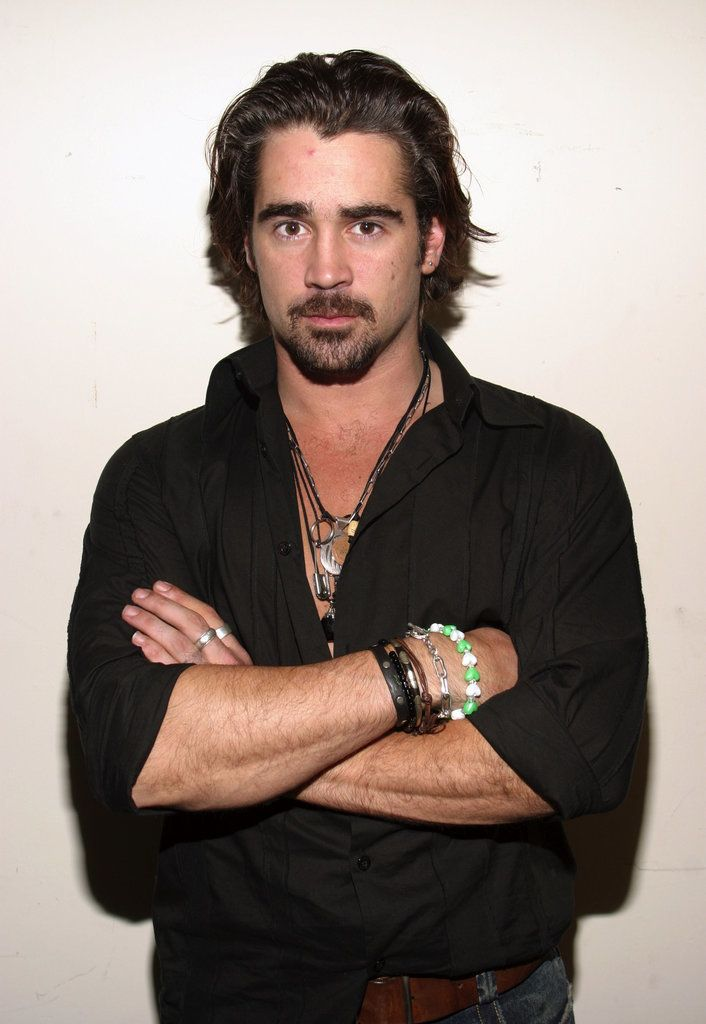 Bad boy Colin Farrell has had a very interesting style evolution over the years.