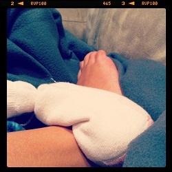 Frugal Tip: DIY Heating Pad!: Sock, My Daughter