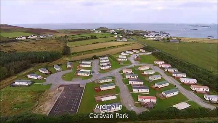 Ardmalin Caravan park in north Inishowen