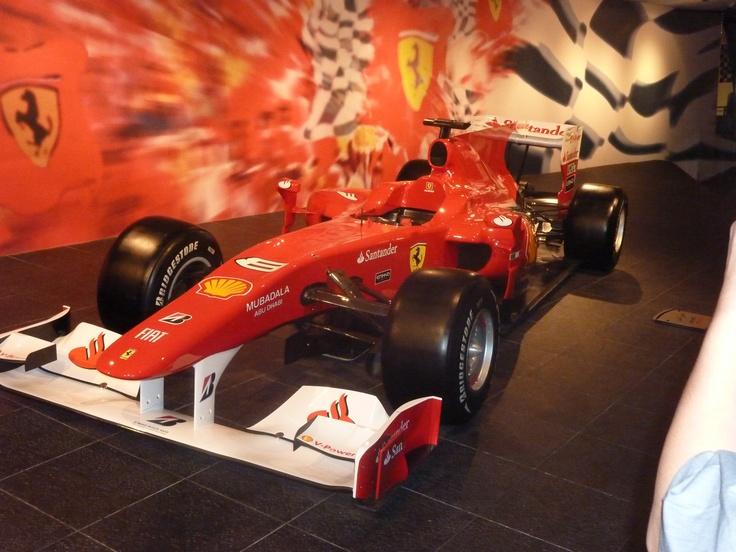 Ferrari's F1 car