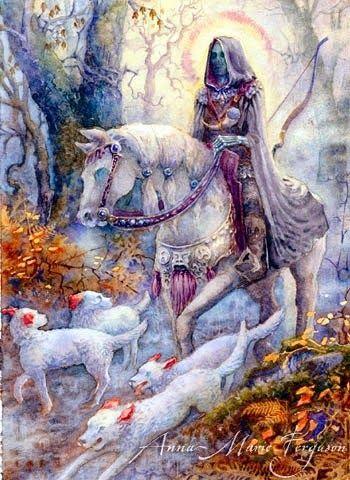 ۞ ADM Sleipnir           Arawn é o deus dos mortos da mitologia celta, também ummestre caçador e um guerreiro excepcional. A origem de seu...