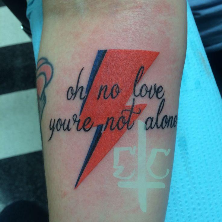 David Bowie tribute done by Erick Campion at Psycho Tattoo in Marietta, Georgia. Follow my Instagram: erickcampion Follow my tumblr: lostsoultattoos submitted by http://lostsoultattoos.tumblr.com