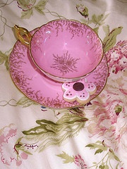 Pink Cup & Pink Saucer~ I would love this in my collection ~