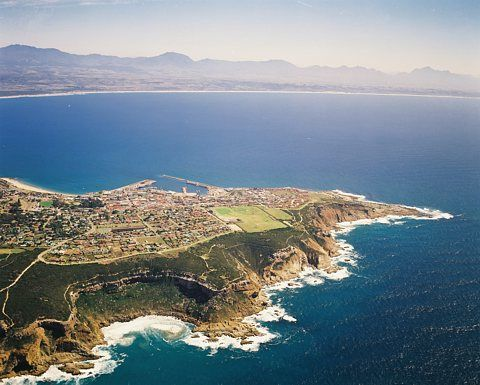 Mossel Bay, along the Garden Route of South Africa