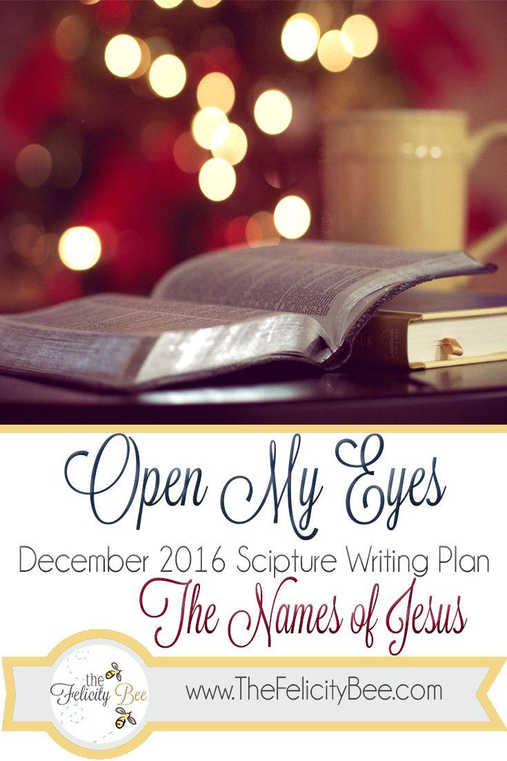 25+ best Scripture writing plan december ideas on Pinterest ...