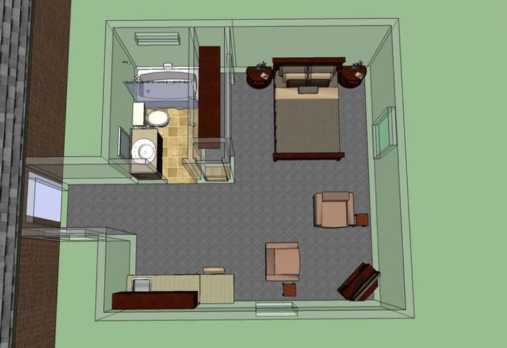 30 best images about mother in law suite on pinterest for Floor plans for in law suite addition
