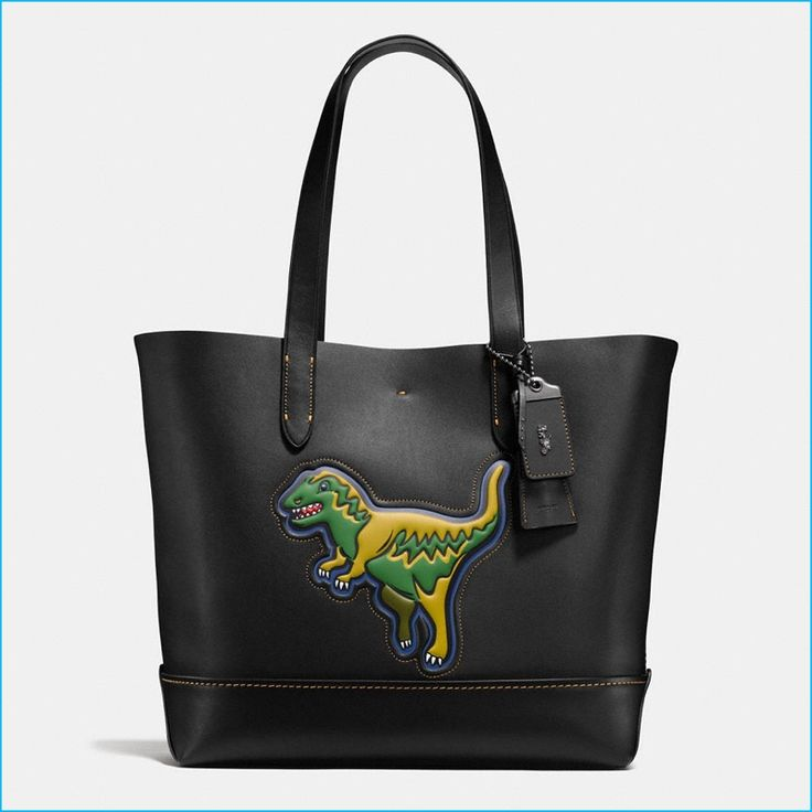 Coach Men's Leather Rexy Gotham Tote