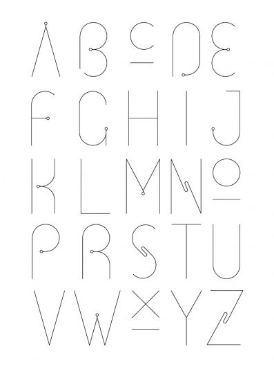 love the letterforms.