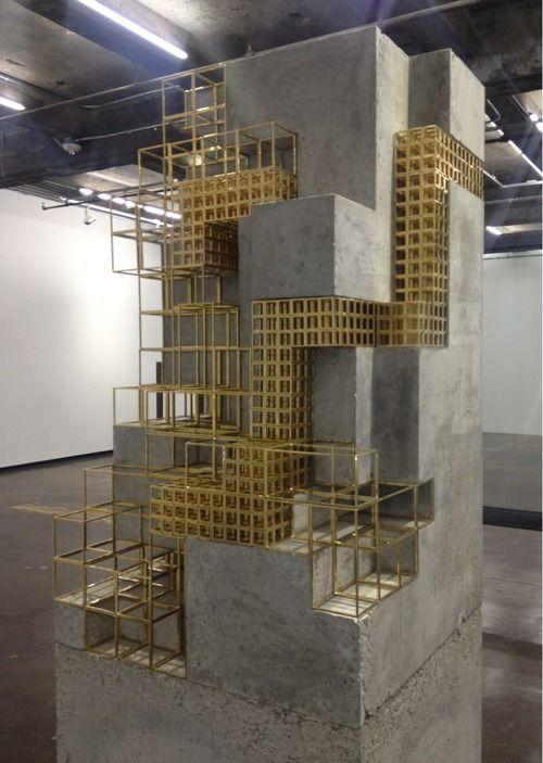 Carol Bove 2014 Brass Concrete Architecture Design