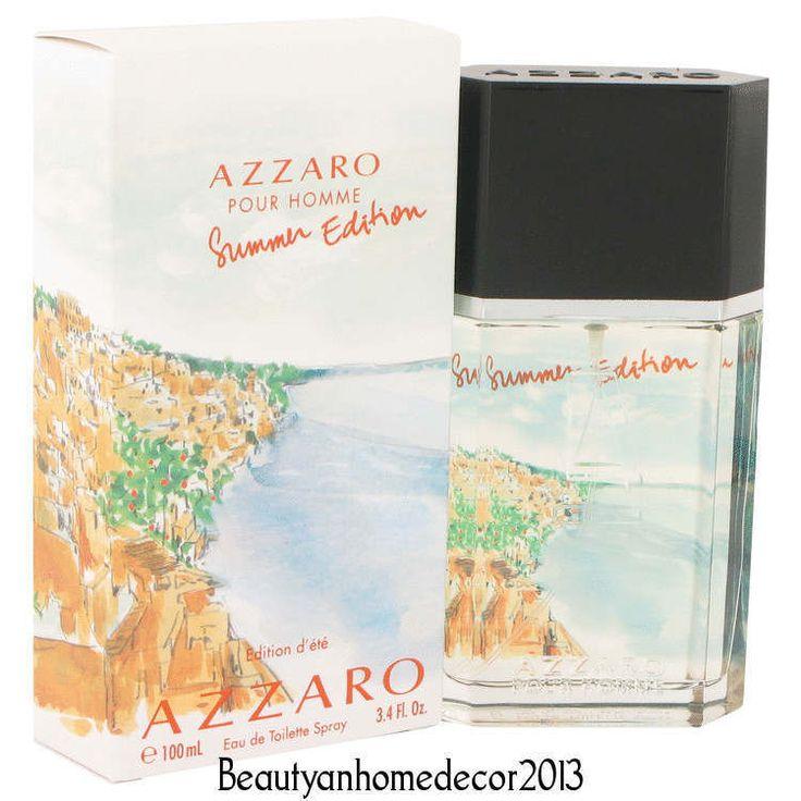 AZZARO HOMME SUMMER 2013 EDITION 3.4 Eau de Toilette Spray Mens Cologne NEW NIB #Azzaro
