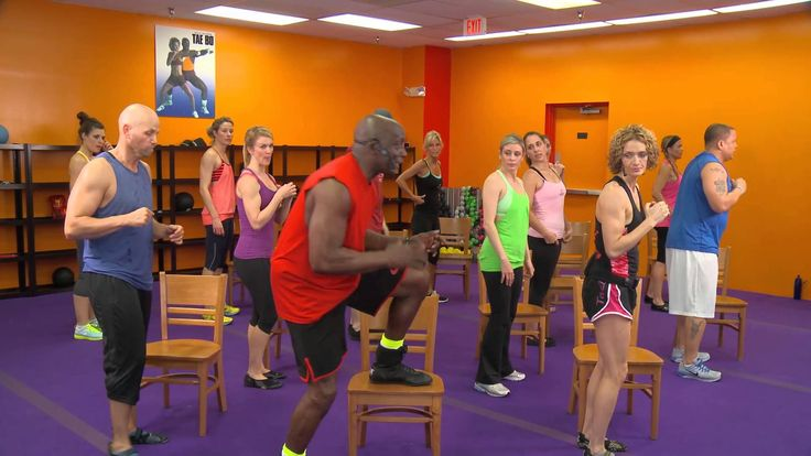 Another weekly workout video brought to you by Billy Blanks Tae Bo® Fitness! This workout uses a sturdy chair for most of the moves. Visit http://www.taebo.c... low impact tae boo.   Easy on the knees.  May skip stepping up on the chair or go lower for now