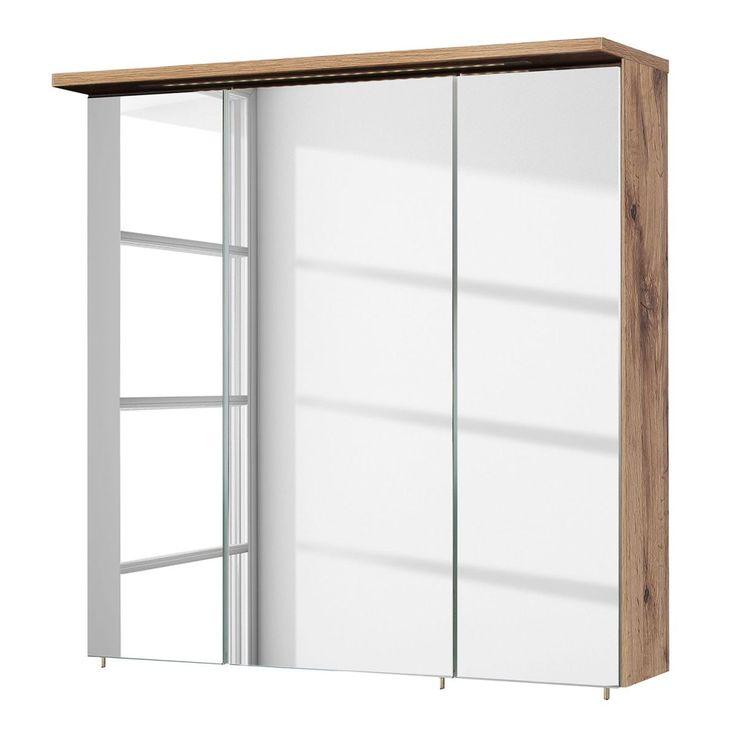 EEK A+, Spiegelschrank Milan (inkl. Beleuchtung) - Wotaneiche Dekor - 70 cm, Schildmeyer Jetzt bestellen unter: https://moebel.ladendirekt.de/bad/badmoebel/spiegelschraenke/?uid=8bed1503-e2ea-5231-9c6e-e8b7ec85c3a1&utm_source=pinterest&utm_medium=pin&utm_campaign=boards #badschränke #möbel #spiegelschraenke #bad #badmoebel #schildmeyer