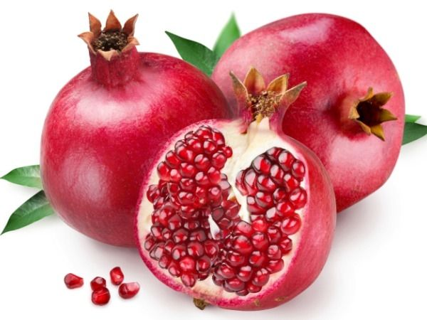 What are the health benefits of pomegranates? -