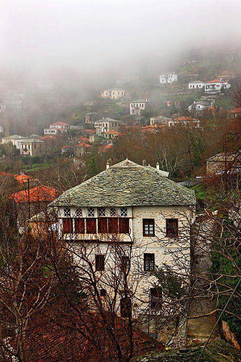 Agios Georgios Nileias (Greek: Άγιος Γεώργιος Νηλείας), Milies, Magnesia, Greece. It is situated on the slopes of mount Pelion.