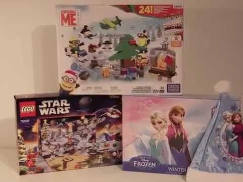 Advent calendar Star Wars Minion Frozen - YouTube