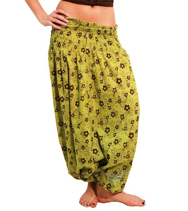 Pantaloni Arabi a fiori