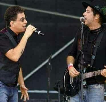 Andrés Calamaro y Gustavo Cerati