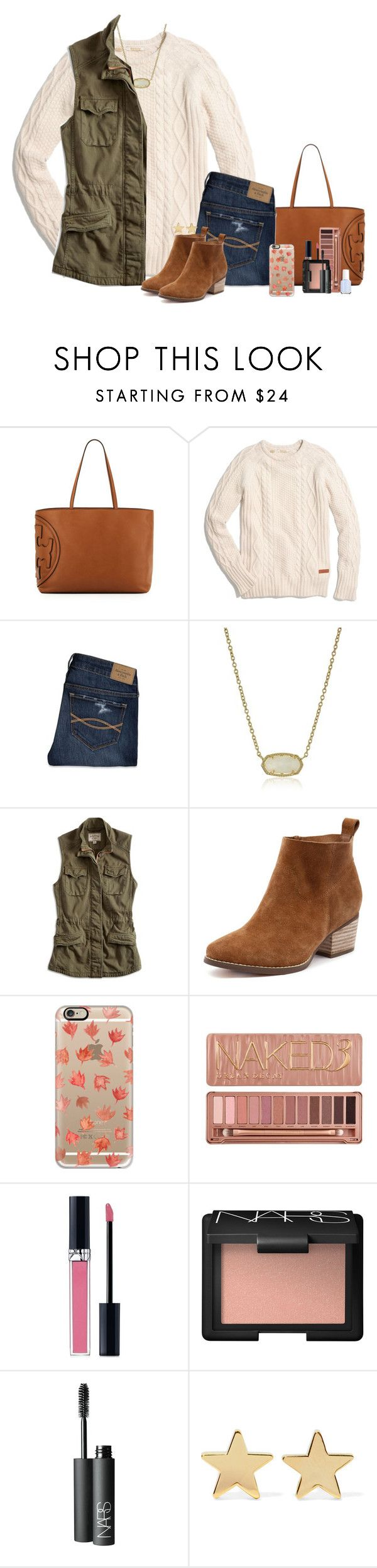 """Contest Entry!!"" by smiles-iv ❤ liked on Polyvore featuring Tory Burch, Madewell, Abercrombie & Fitch, Kendra Scott, Lucky Brand, Casetify, Urban Decay, Christian Dior, NARS Cosmetics and Jennifer Meyer Jewelry"