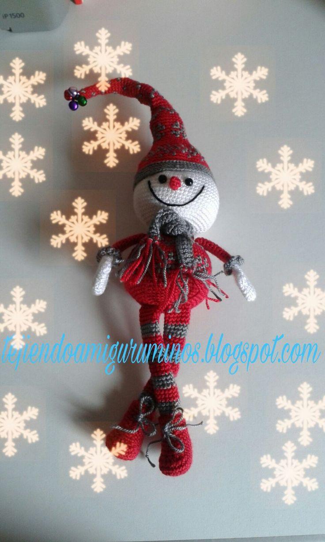 Hola chicas, como me encanta la Navidad y sobre todo los muñecos de nieve, me apetecía mucho hacer uno. Así que me he puesto ma...