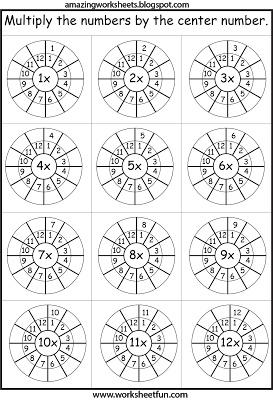 Multiplication 1-12