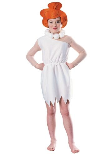 Kids Wilma Flintstone Costume - Child Flintstones Halloween Costumes