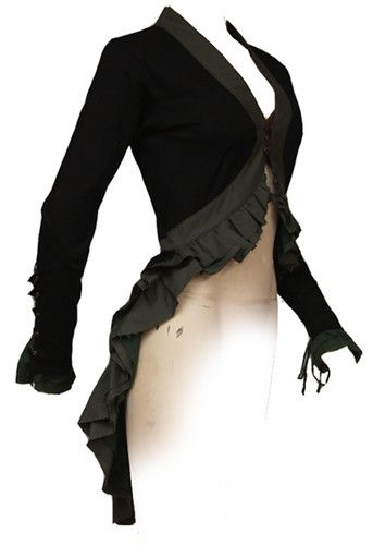 Psy punk steampunk CABARET JACKET by FAIRY FLOSS. 10-12