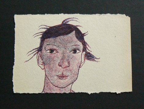 Ronald Rae, Girl with a hairlip on ArtStack #ronald-rae #art