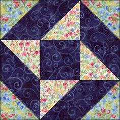 Ribbon Star. the first block I ever tried to piece. mine was from Fons and Porter book.
