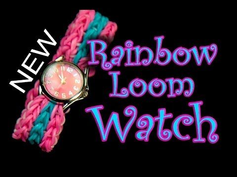 How to make a Double Triple Single Watch Band - Rainbow Loom How to Video Tutorial