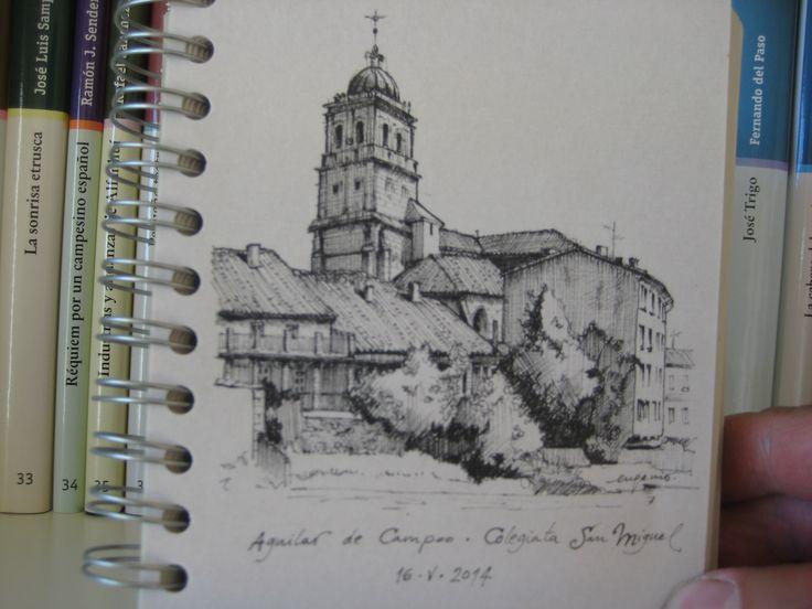 Colegiata de San Miguel. Aguilar de Campoo, Palencia.
