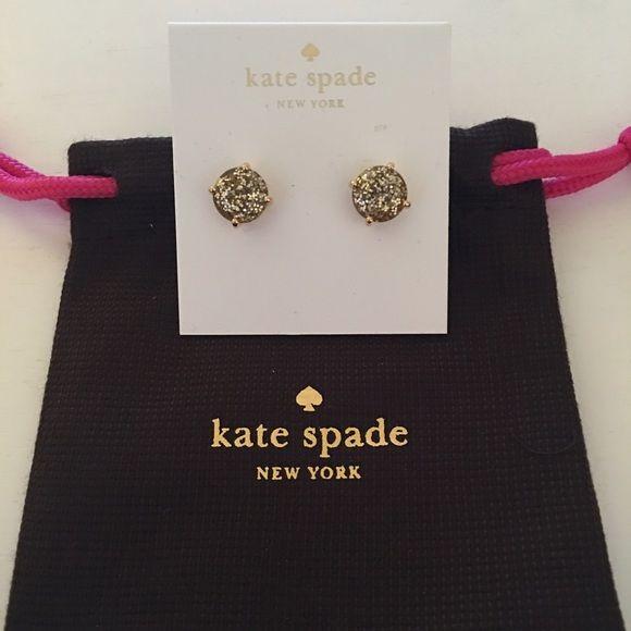 ♠️❤️NWT Kate Sapde Glitter Bug Earrings♠️❤️ ♠️❤️NWT Kate Sapde Gold Glitter Bug Earrings♠️❤️ kate spade Jewelry Earrings