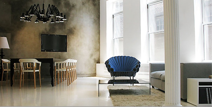 CAPPELLINI Peacock armchair by Dror
