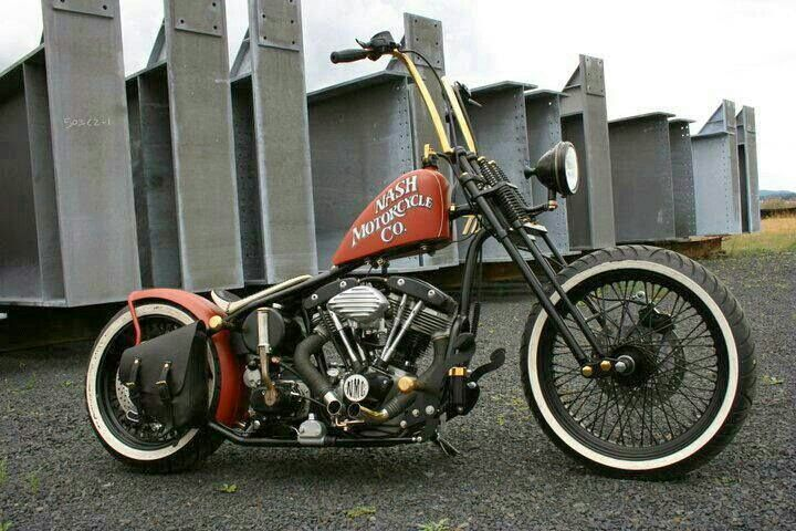 Cool Rat Rod Bike~☆★