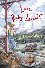 Debbie Wiles is my favorite children's author for ages 9 and up.  'Love, Ruby Lavender' is a treat.