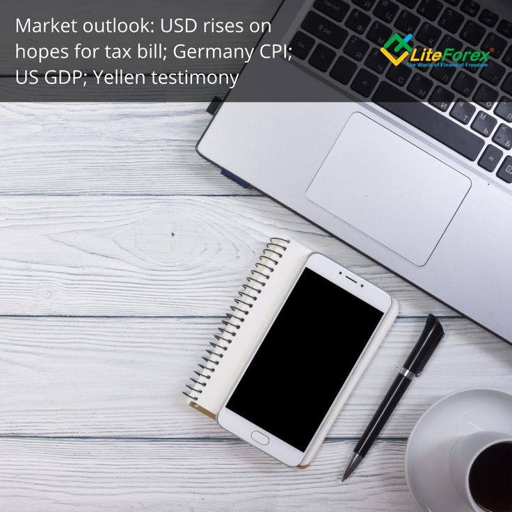 """Marshall Gittler's Market Outlook: USD rises on hopes for tax bill; Germany CPI, US GDP, Yellen testimony  USD gained after the Senate tax bill made it out of committee and headed to the floor of the Senate for a vote on Thursday. Two Republican members of the committee who had their doubts about the bill were persuaded to vote for it. The market must be assuming that the same process of persuasion can be exerted on the other doubters within the party and the bill will be able to pass.  There was one ambiguous event yesterday that the market interpreted favorably. Trump was supposed to meet with the leaders of the Democrats and Republicans in Congress to hammer out some way to keep the government going after the money runs out on 8 December, but before the meeting, Trump tweeted """"I don't see a deal!"""" As a result, the Democrats pulled out of the meeting and just met with their Republican counterparts.  Some investors interpreted this chain of events to be positive on the assumption that it'll be easier for the Democrats to forge a deal with the Republican leaders than with Trump, and so stocks and the dollar actually rose when the news broke. However, the T-bill market thought otherwise. The yield on the bill maturing 21 December, i.e. after the shut-down would occur, hit a new high relative to the one maturing 7 December, i.e. before the government would run out of money. The difference indicates that investors in the T-bill market are taking the possibility of a government shutdown quite seriously. That should be negative for the dollar.  GBP gyrated on news reports, later denied, later confirmed, that the British government had reached a preliminary agreement on the financial settlement with the EU, the so-called """"divorce bill."""" It appears that the UK will agree to pay the EU what it wants so long as neither side says in advance what the total bill will be. The total will only be known after the last EU pensioner has died and the last payment to the EU is made. Th"""