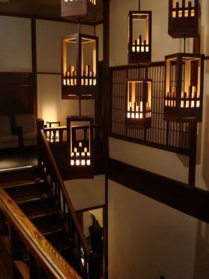 大正木造建築,看燈籠造型
