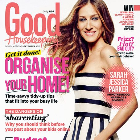 Get the September issue of GH today! The new issue of Good Housekeeping magazine, with the inspiring Sarah Jessica Parker on the cover, is on sale now!