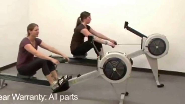 Rowing Machine workout   Concept2 Model D & E Indoor Rowing Machine with...