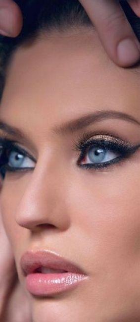 10 maquillages pour les yeux bleus ! - Beauté - Forum Mariages.net