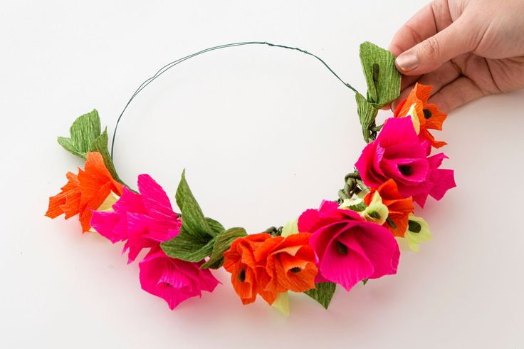 Make a flower crown with this DIY kit.