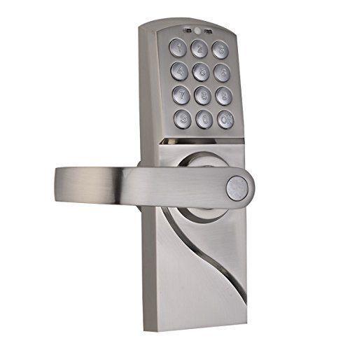 Generic O-8-O-1222-O Left Ha Lock Left oor Loc Security Entry Door ity Ent Digital Electronic/Code Keypad Handle New /Code K Keyless Keypad HX-US5-16Mar28-2917