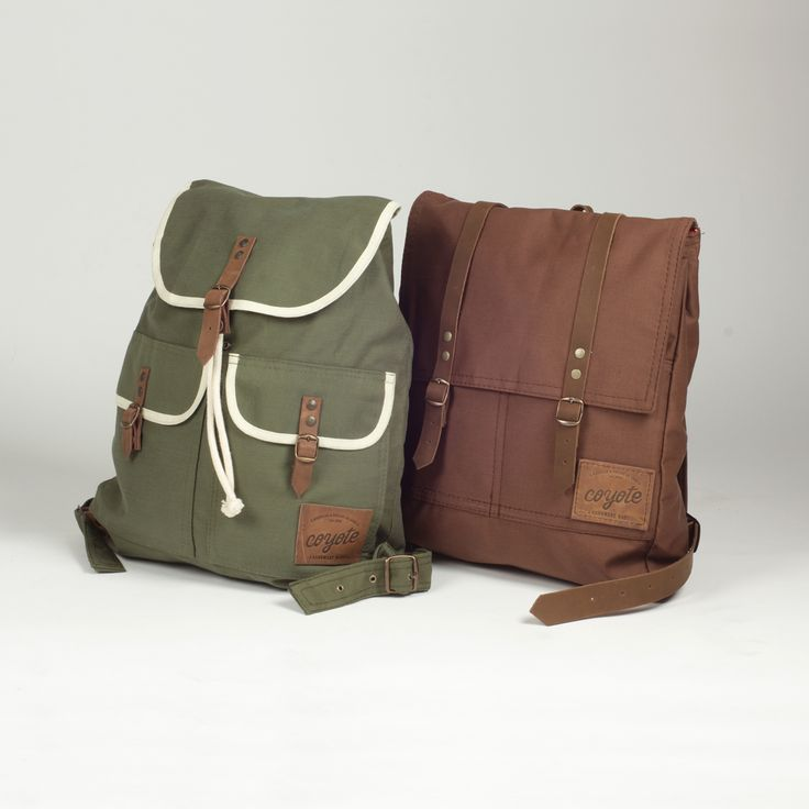 Coyote bags <3 made in Chile