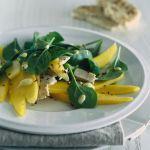 Insalata di mango e spinacini - Sale e Pepe