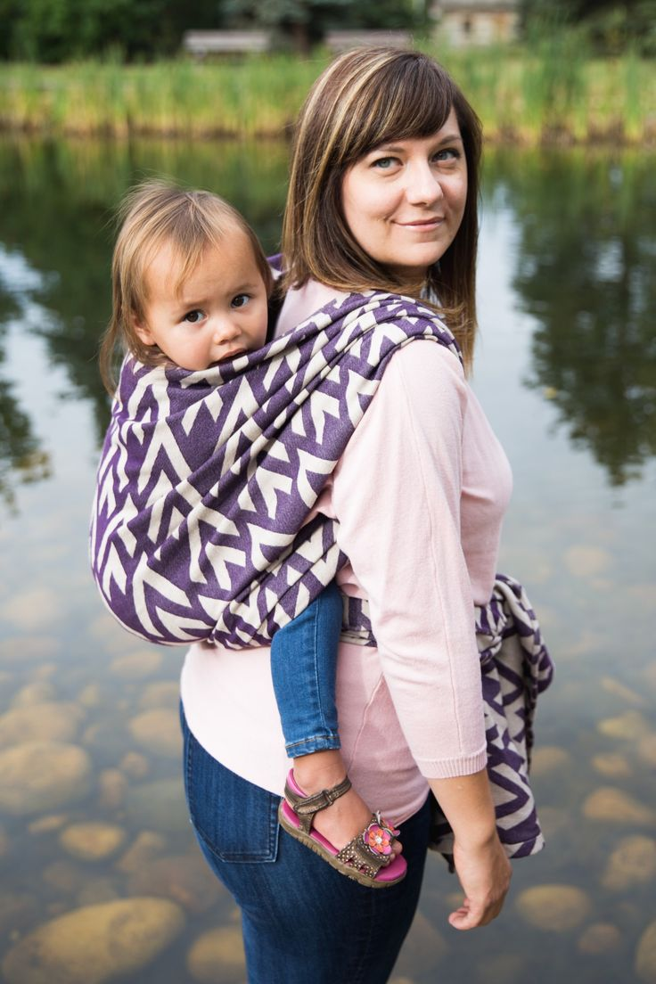 Review on the beautiful and cushy Chrsyler Heather wrap by Rowan Bay any wrapper will love.